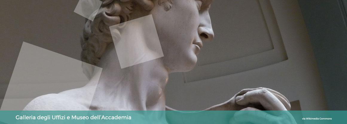 Galleria dell'Accademia e Galleria degli Uffizi