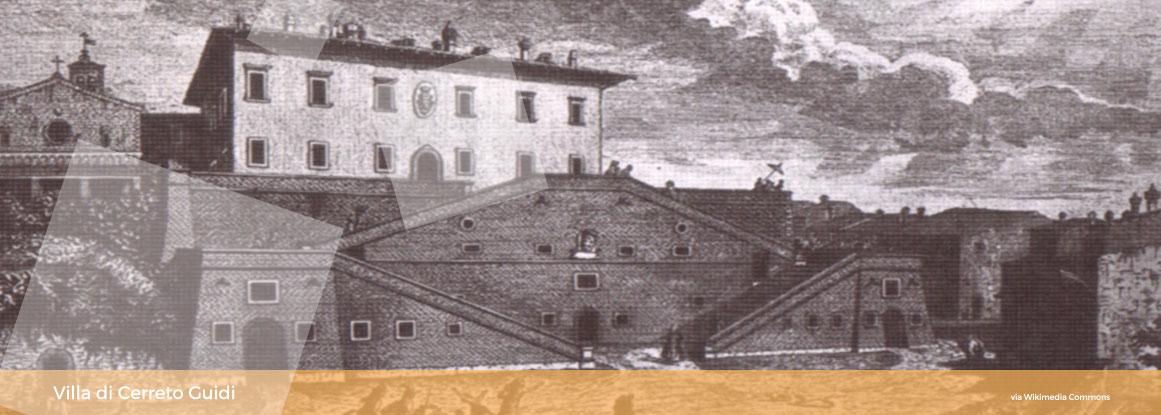 Villa di cerreto Guidi