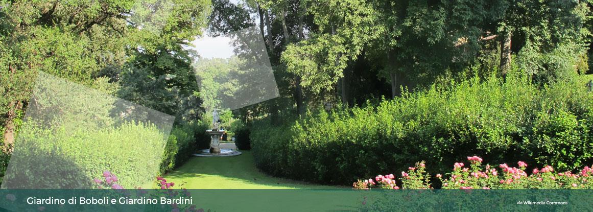 Giardini Boboli e Giardino Bardini